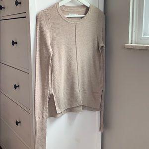 Light cream knit sweater